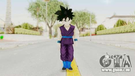 Dragon Ball Xenoverse Gohan Teen DBS SJ v1 pour GTA San Andreas deuxième écran