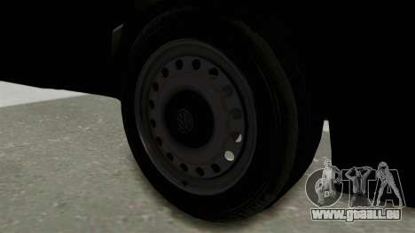 Volkswagen Golf 2 Tuning für GTA San Andreas Rückansicht