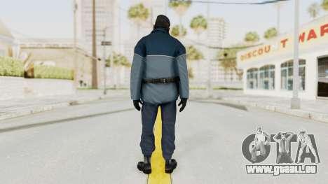 Bourne Conspirancy Zurich Police v1 pour GTA San Andreas troisième écran