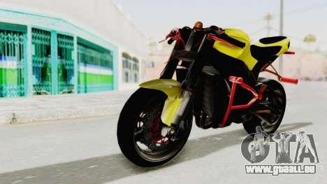 Kawasaki Ninja ZX-10R Nakedbike Stunter für GTA San Andreas