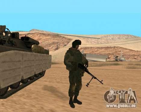 Des forces spéciales de la Fédération de russie pour GTA San Andreas sixième écran
