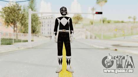 Mighty Morphin Power Rangers - Black für GTA San Andreas zweiten Screenshot