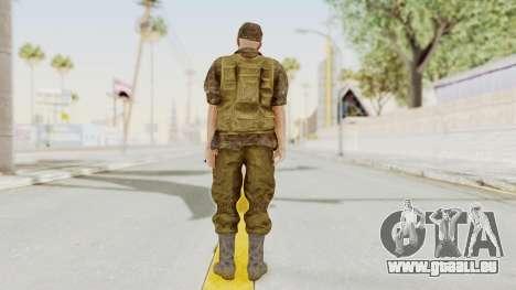 MGSV The Phantom Pain Soviet Union No Sleeve v1 pour GTA San Andreas troisième écran