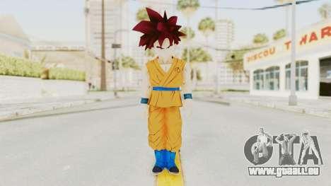 Dragon Ball Xenoverse Gohan Teen DBS SSG v2 pour GTA San Andreas deuxième écran