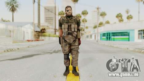 MGSV The Phantom Pain Venom Snake Wetwork für GTA San Andreas zweiten Screenshot