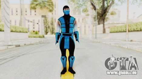 Mortal Kombat X Klassic Sub Zero UMK3 v2 pour GTA San Andreas deuxième écran