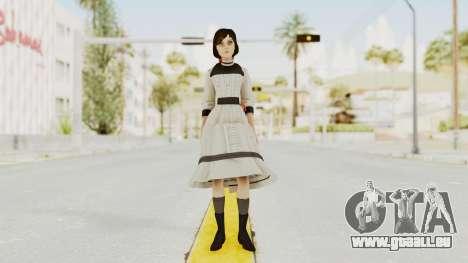 Bioshock Infinite Elizabeth Young pour GTA San Andreas deuxième écran