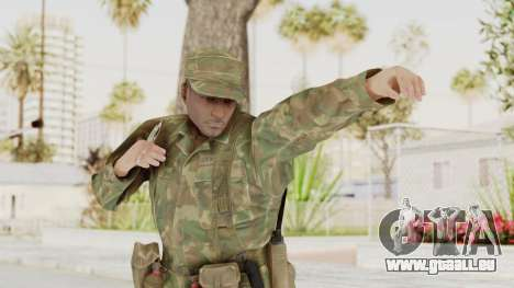 MGSV Ground Zeroes US Soldier Armed v1 pour GTA San Andreas