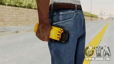Tear Gas Gold für GTA San Andreas dritten Screenshot