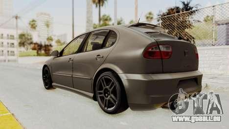 Seat Leon CupraR 2003 pour GTA San Andreas laissé vue