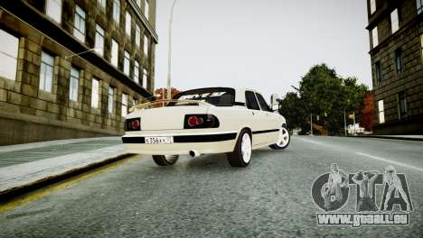 GAZ 3110 Turbo WRX STI für GTA 4 hinten links Ansicht