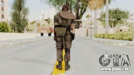 MGSV The Phantom Pain Venom Snake Scarf v6 für GTA San Andreas dritten Screenshot