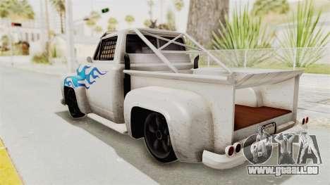 GTA 5 Slamvan Race PJ1 für GTA San Andreas linke Ansicht