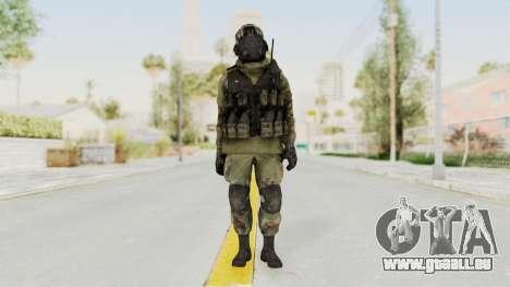 Advanced Warfare North Korean Assault Soldier pour GTA San Andreas deuxième écran
