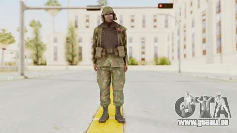 MGSV Ground Zeroes US Pilot v1 für GTA San Andreas zweiten Screenshot