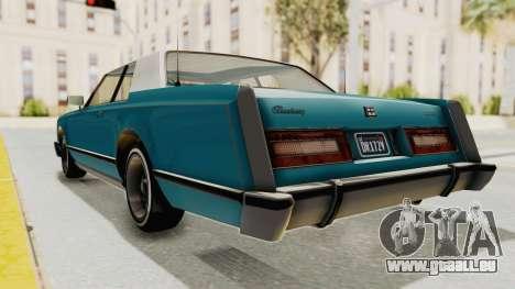 GTA 5 Dundreary Virgo Classic Custom v3 pour GTA San Andreas vue de droite