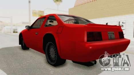 Imponte Centauro - Civil Hotring Racer A pour GTA San Andreas laissé vue