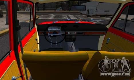 VAZ 21011 Usine pour GTA 4 Vue arrière