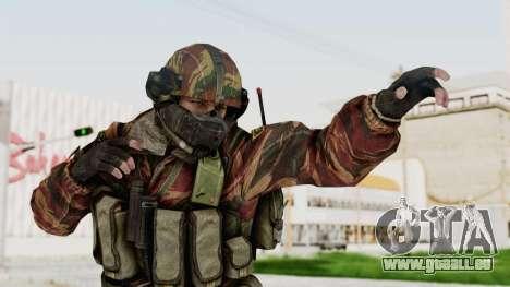 Battery Online Russian Soldier 7 für GTA San Andreas