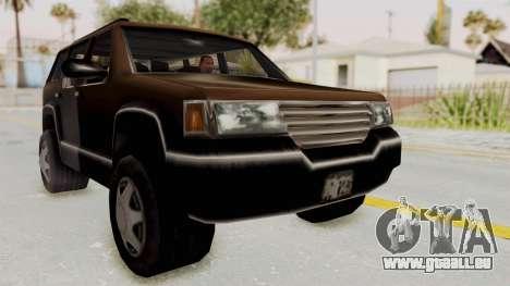 Landstalker from GTA 3 für GTA San Andreas rechten Ansicht