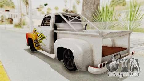 GTA 5 Slamvan Race PJ1 für GTA San Andreas obere Ansicht