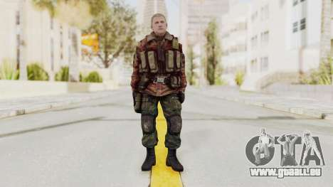 Battery Online Russian Soldier 10 v3 für GTA San Andreas zweiten Screenshot