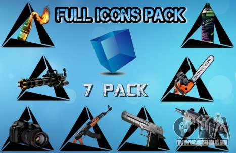 Full Icons Pack pour GTA San Andreas