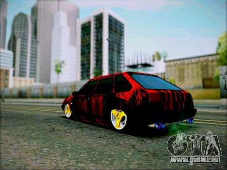 2109 Agressif pour GTA San Andreas laissé vue