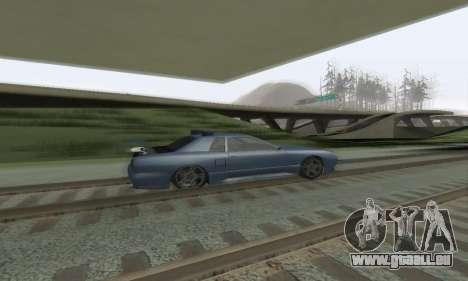 Standard Élégie avec un aileron rétractable pour GTA San Andreas vue intérieure