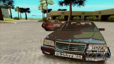Mercedez-Benz W140 pour GTA San Andreas