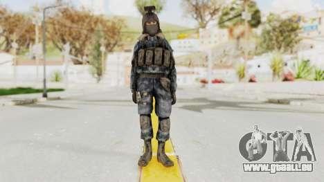 COD 4 Custom Russian Soldier pour GTA San Andreas deuxième écran