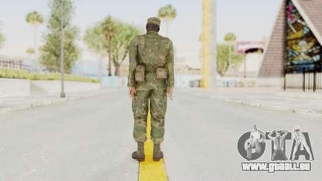 MGSV Ground Zeroes US Soldier Armed v1 pour GTA San Andreas troisième écran