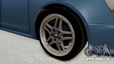Audi RS6 für GTA San Andreas Rückansicht