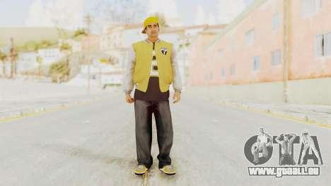 GTA 5 Los Santos Vagos Member 2 pour GTA San Andreas deuxième écran