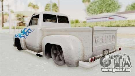 GTA 5 Slamvan Lowrider PJ1 für GTA San Andreas linke Ansicht