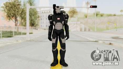 Captain America Civil War - War Machine für GTA San Andreas zweiten Screenshot