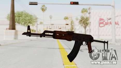kbk AKMS pour GTA San Andreas deuxième écran