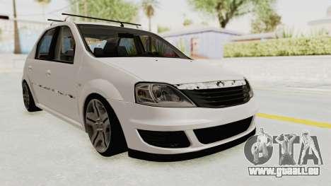 Dacia Logan 2013 für GTA San Andreas rechten Ansicht
