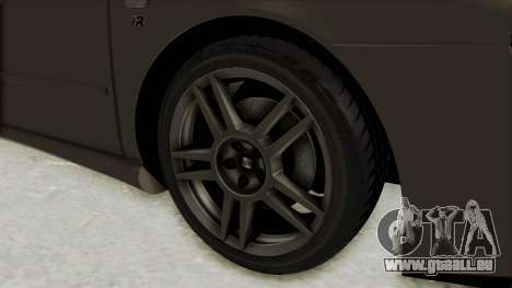 Seat Leon CupraR 2003 pour GTA San Andreas vue arrière