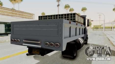 Chevrolet G30 pour GTA San Andreas laissé vue