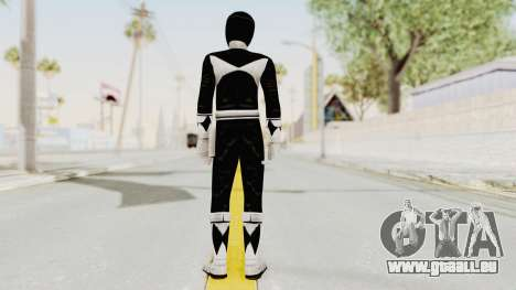 Mighty Morphin Power Rangers - Black für GTA San Andreas dritten Screenshot