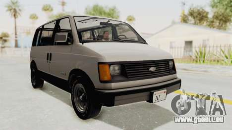 Chevrolet Astro 1988 pour GTA San Andreas