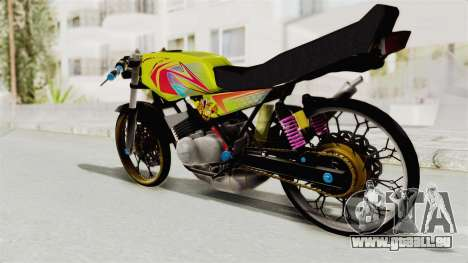 Yamaha RX King 200 CC Killing Ninja pour GTA San Andreas vue de droite