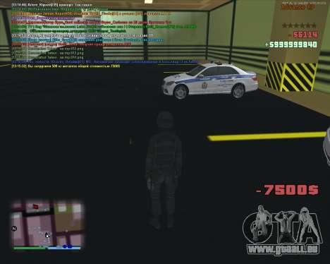 CLEO Fakearmy pour GTA San Andreas troisième écran