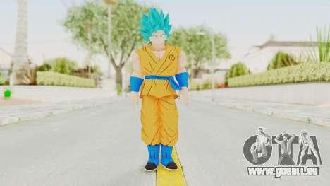 Dragon Ball Xenoverse Goku SSGSS V2.0 pour GTA San Andreas deuxième écran