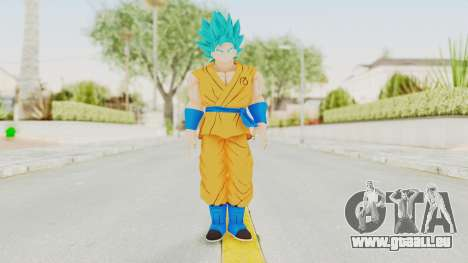 Dragon Ball Xenoverse Goku SSGSS V2.0 für GTA San Andreas zweiten Screenshot