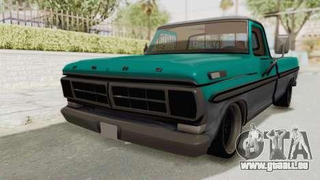 Ford F-150 Black Whells Edition für GTA San Andreas