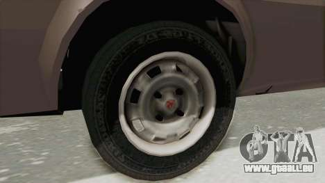 Vauxhall Cavalier MK1 Coupe pour GTA San Andreas vue arrière