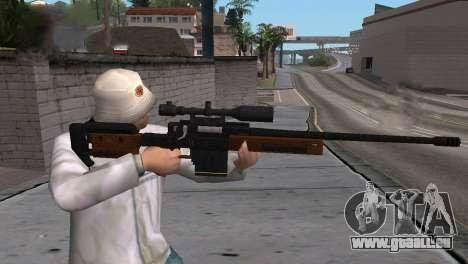 VIP Sniper Rifle für GTA San Andreas