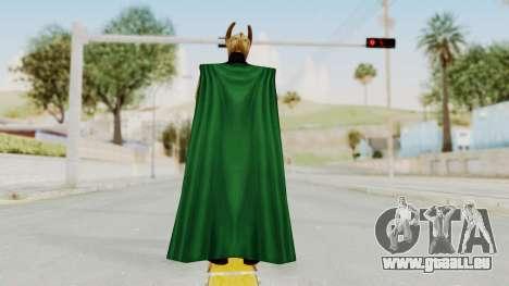 Marvel Future Fight - Loki für GTA San Andreas dritten Screenshot